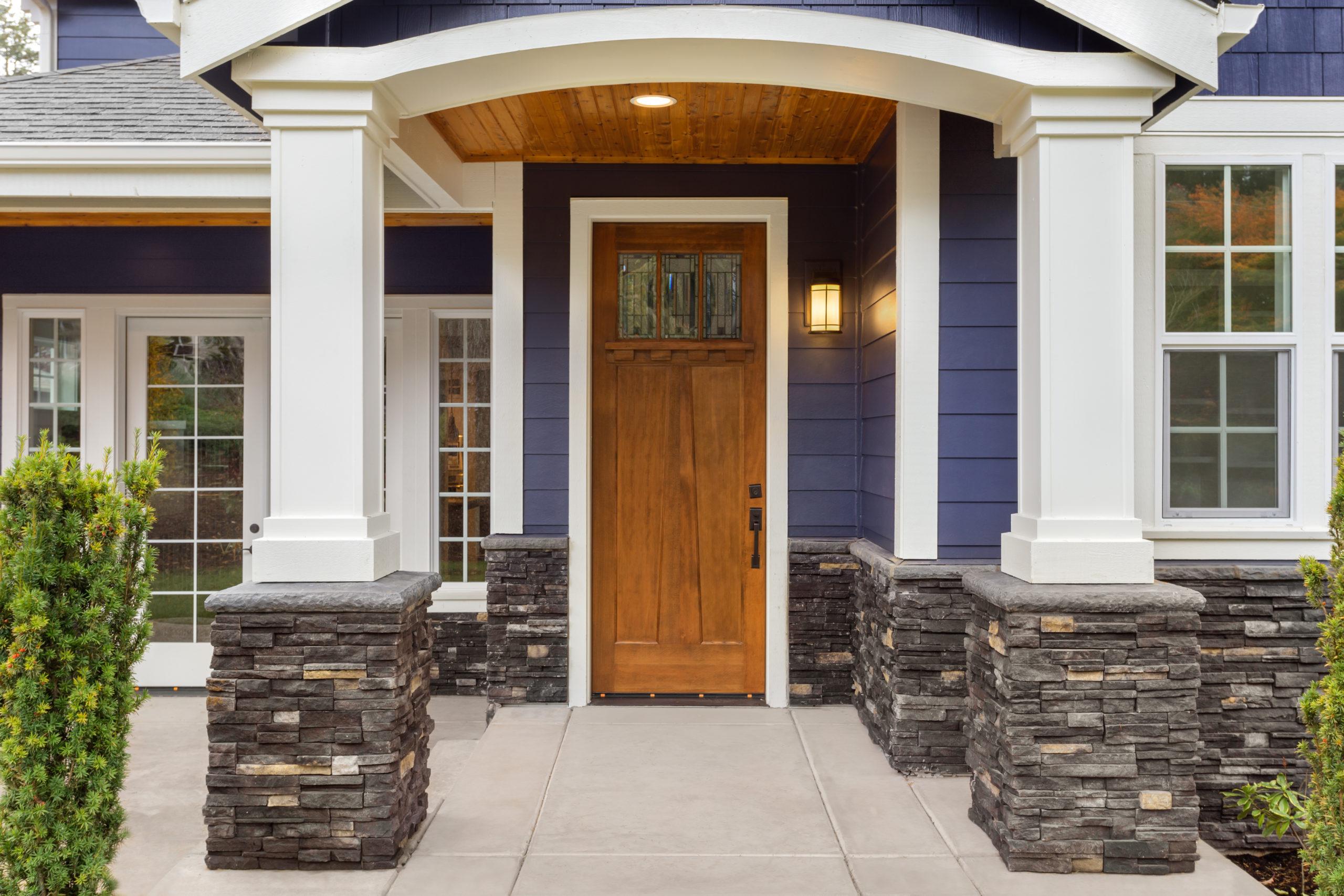 home exterior detail